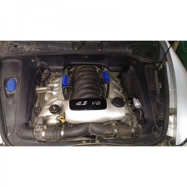 Установка газового оборудования 4-го поколения на Porsche Cayenne V8